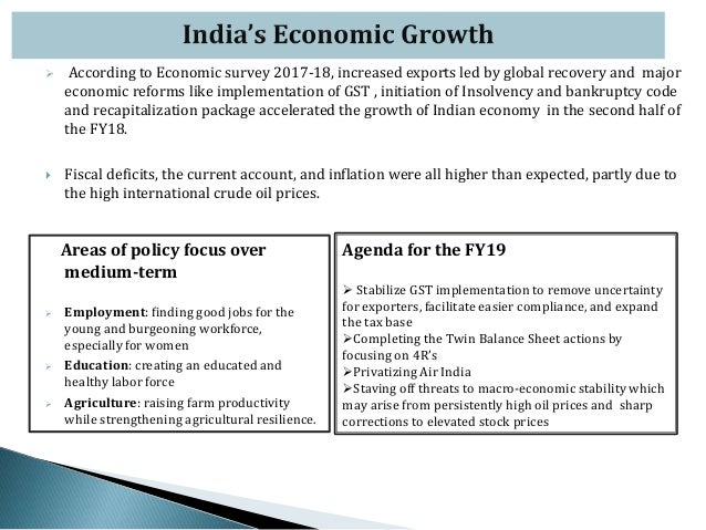 Budget 2018-19 and its Impact on the India Economy: An