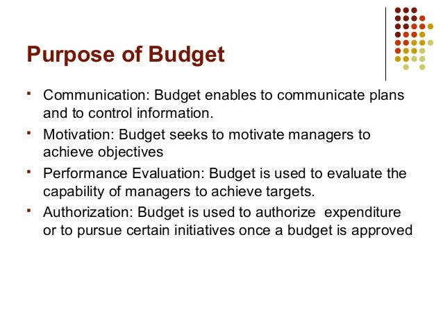 Budgeting: Purpose and Potential Problems – Literature Review
