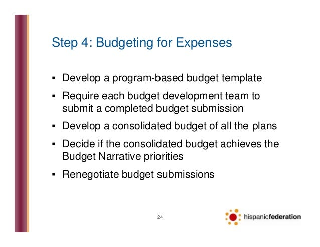Nonprofit Budget Development