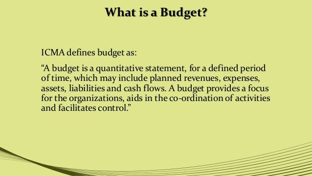 What Is a Budget Proposal?