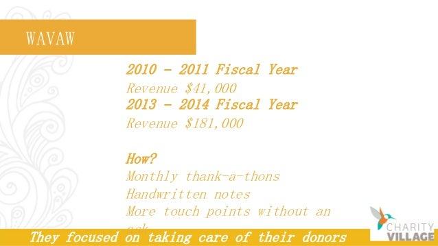 Creating a Donor Stewardship Plan