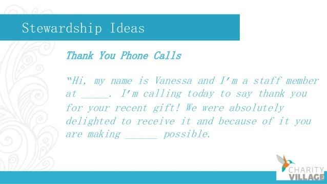 Stewardship Ideas