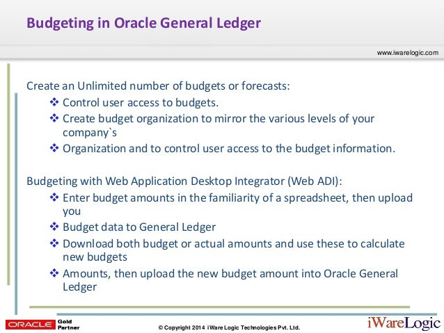 webcast budgeting r12 1 3 oracle general ledger