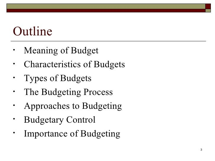 define incremental budgeting