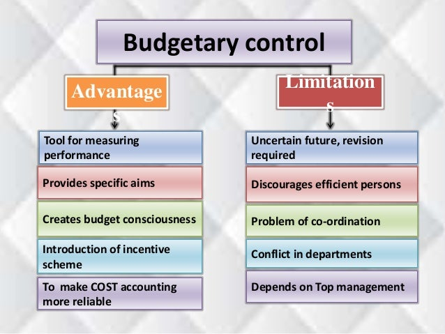 benefits of budgetary control system Management control system hamed armesh faculty of management ,mmu,malaysia such as budgeting as a powerful control mechanism in organizations.