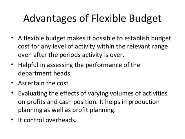 budgeting advantages disadvantages The advantages of cash budgeting make it an important financial analysis tool it helps determine whether an entity has sufficient cash to meet regular operational demands, whether cash is.