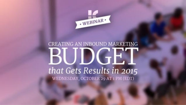 Introductions  Tim Kiedrowski | Client Relations Manager  Why is this webinar important?  ● Need a budget to succeed  ● Ho...