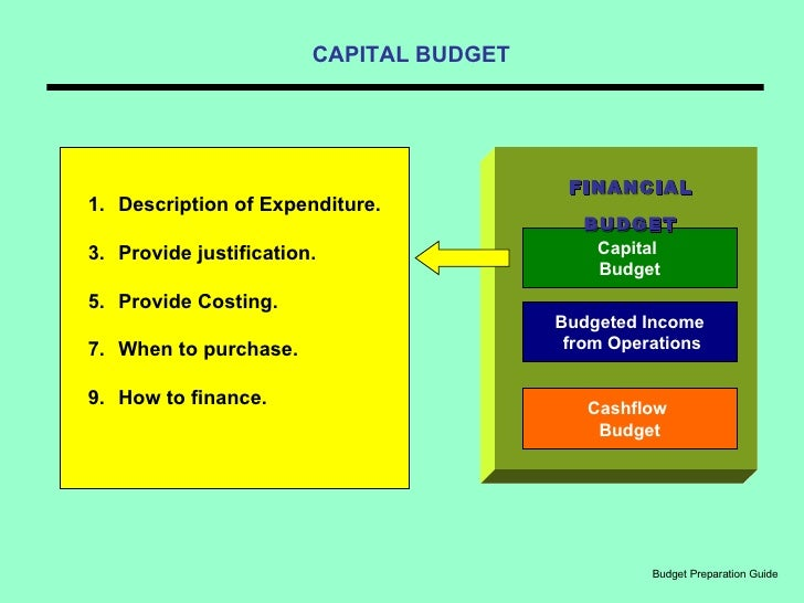 preparation and budget Budget preparation process mtbf components: a strategic ('top-down') component which sets the overall framework for the budget and leads to the setting of medium term ceilings for each line ministry at the start of the annual budget preparation process.