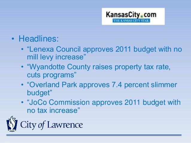 Wyandotte County Property Tax Rate