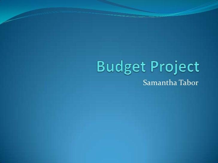 Samantha Tabor