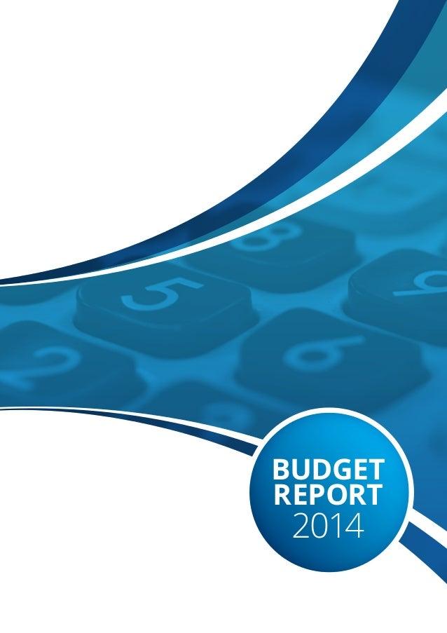 BUDGET REPORT 2014