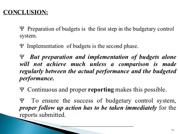 budget and budgetary control for improved Most companies will wait until the second half of the fiscal year to improve budgeting, planning and forecasting however, the beginning of the fiscal year is the perfect time to start getting ready for a new planning process and system.