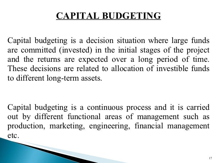 The Importance of Understanding Capital Budgeting for Managers in Healthcare