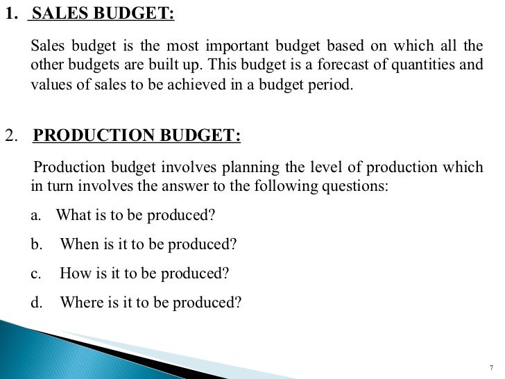 budget and budgetary control for improved Of budgets within a wider management control framework is integral to dealing  with  they arise in order to enhance the likelihood of their eventual success.