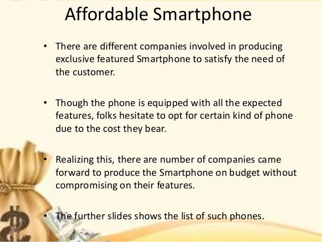 Budget smartphone 2016 with the best features Slide 2