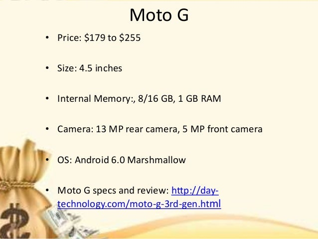 Budget smartphone 2016 with the best features Slide 3