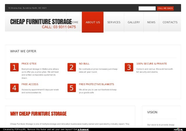 10 Arvona Ave, Sunshine North, VIC 3021 - CALL ME BACK  CHEAP FURNITURE STORAGEHOME ABOUT US SERVICES GALLERY NEWS CONTACT...