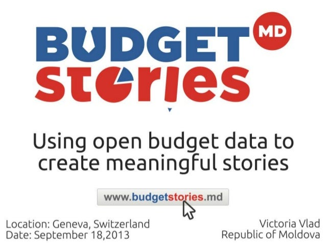 BudgetStories presentation at the Open Knowledge Conference