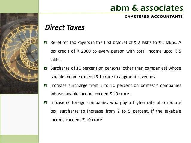Budget update 2013 Slide 2