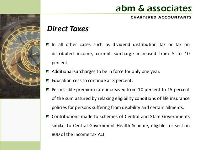 Budget update 2013 Slide 3
