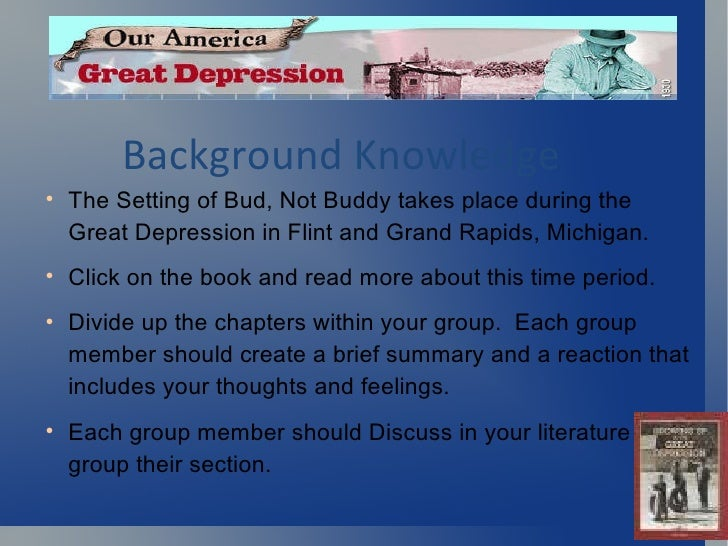 a summary of the book bud not buddy