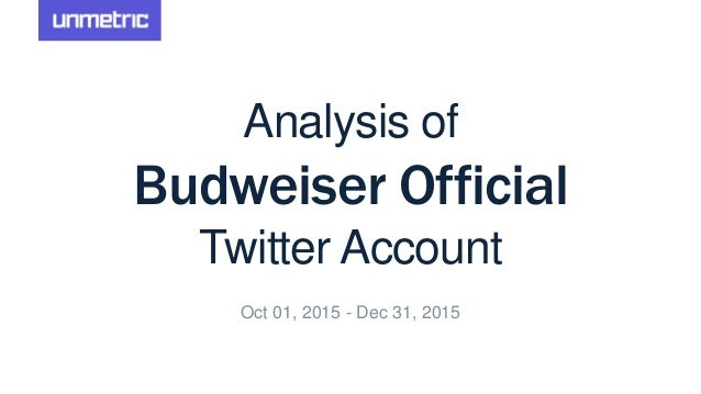 budweiser analysis Anheuser busch has launched budweiser born the hard way, a super bowl commercial featuring co-founder adolphus busch's experience.