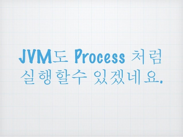 JVM Process ᅧ  ཇጌዾ༘ ၰઔဠ.