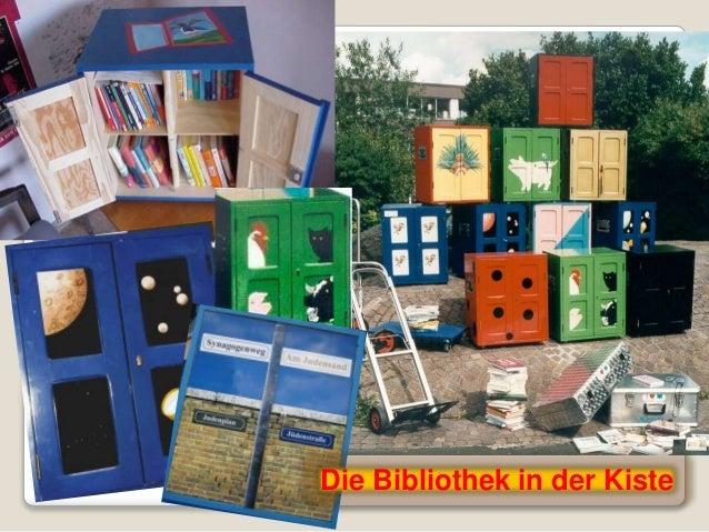 Die Bibliothek in der Kiste