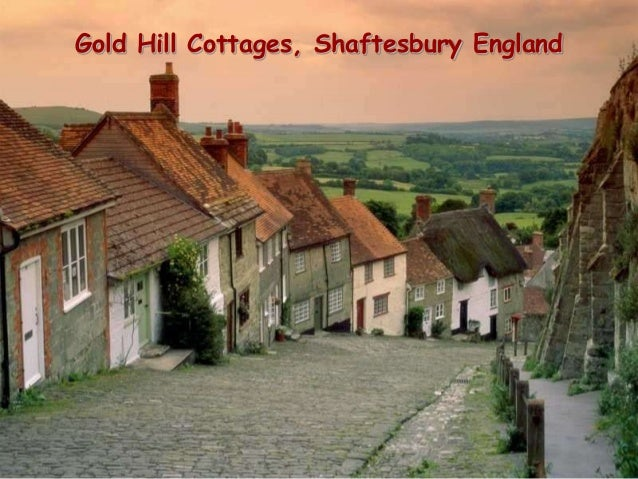 Gold Hill Cottages, Shaftesbury England