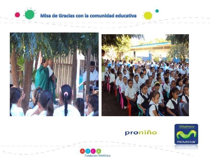 Misa de Gracias con la comunidad educativa<br />