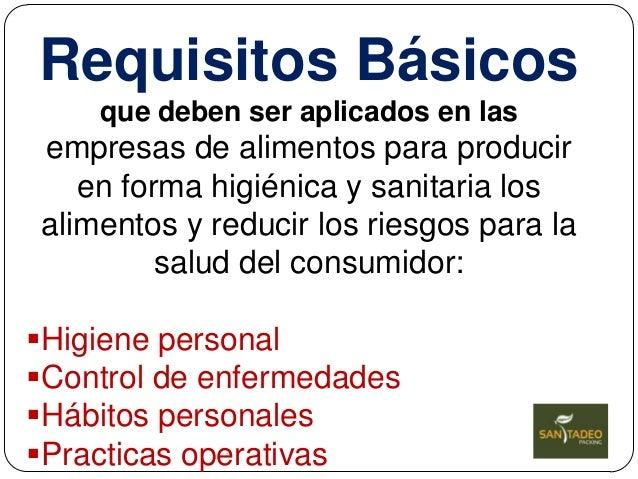 Bpm Buenas Practicas De Manufactura En Alimentos Solo