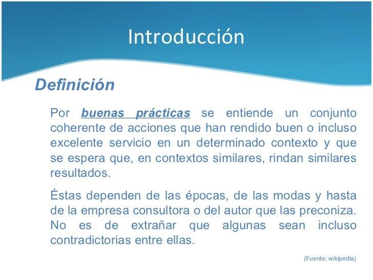 Buenas prácticas para la construcción de software Slide 3