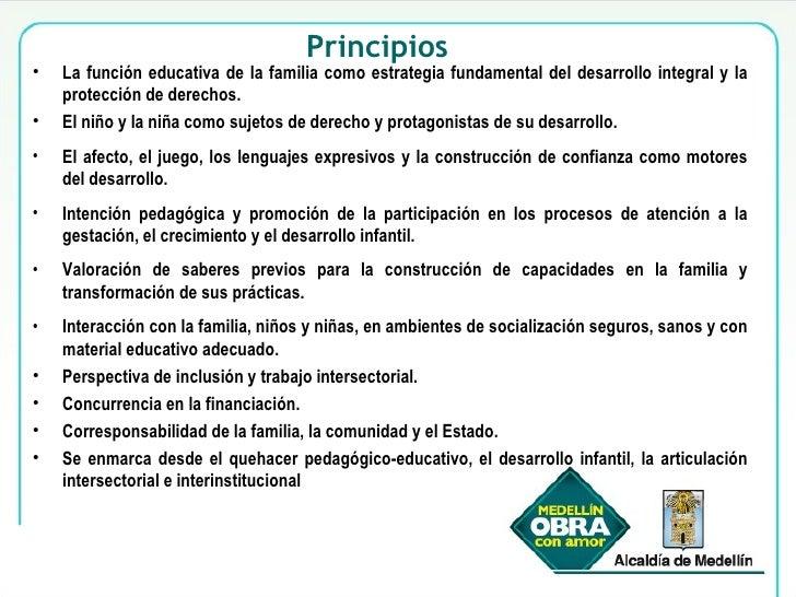 <ul><li>La función educativa de la familia como estrategia fundamental del desarrollo integral y la protección de derechos...