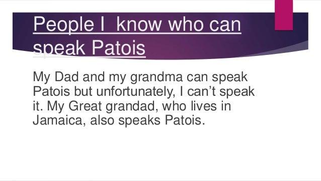 how to speak jamaican patois