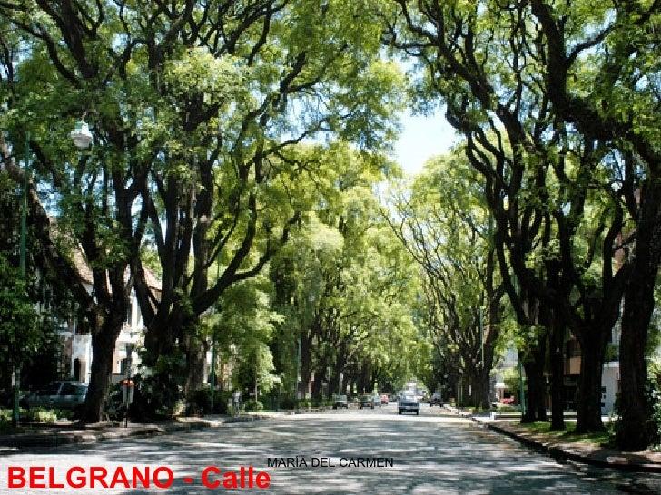 BELGRANO -Calle Melián