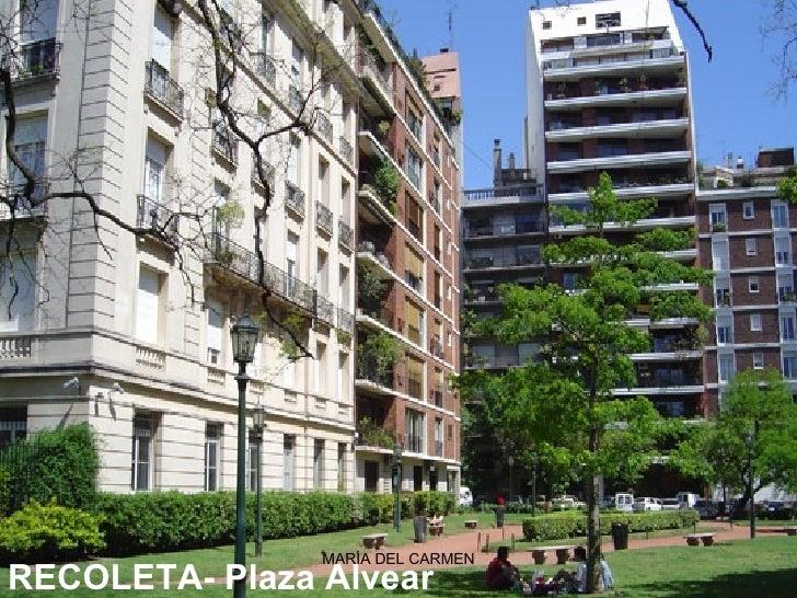 RECOLETA-Plaza Alvear