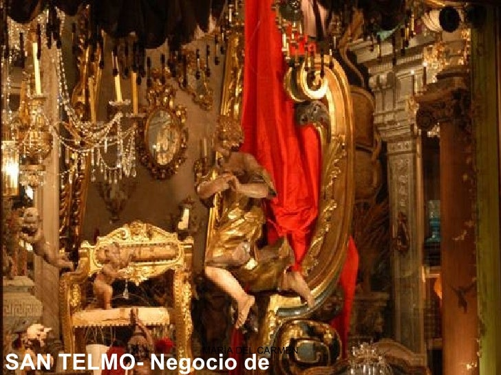 SAN TELMO-Negocio de antigüedades