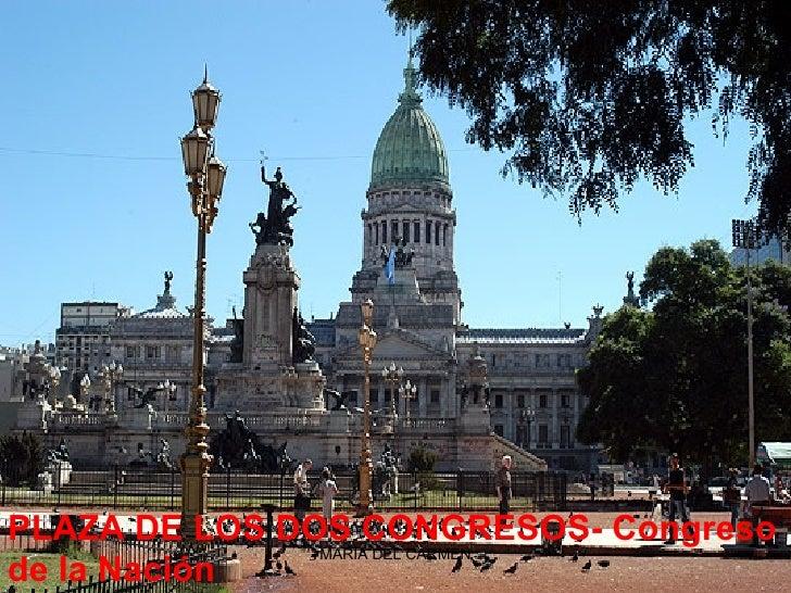 PLAZA DE LOS DOS CONGRESOS- Congreso de la Nación