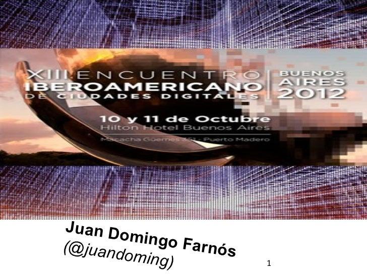 Juan Do         mingo F(@juand          arnós        oming)           1