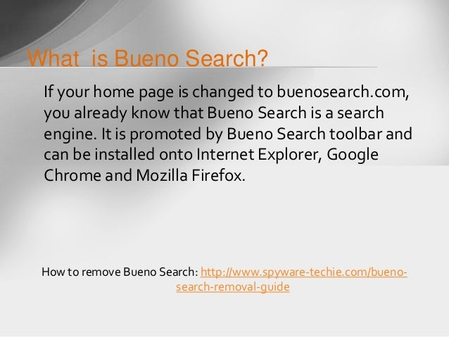 How to remove Bueno Search (Firefox, Chrome, IE) - YouTube