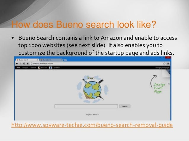 Remove Bueno Search - pcthreat.com