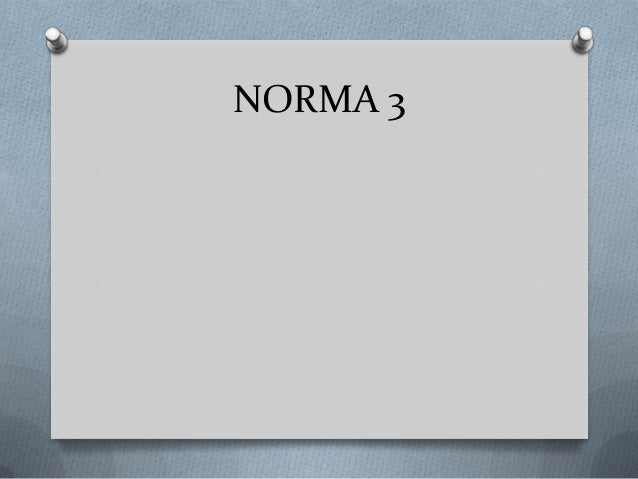 NORMA 3