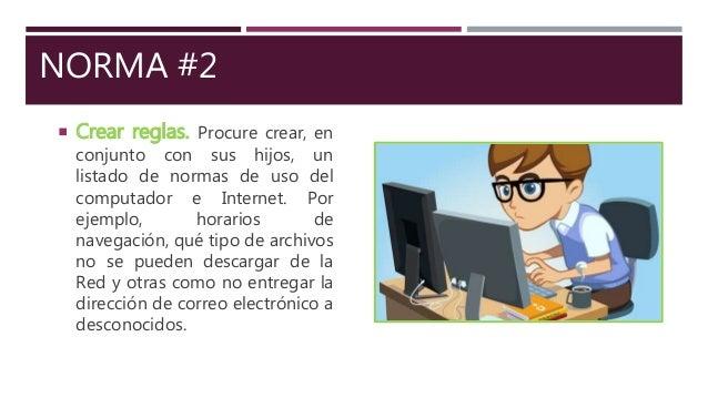 Buen uso de internet Slide 3