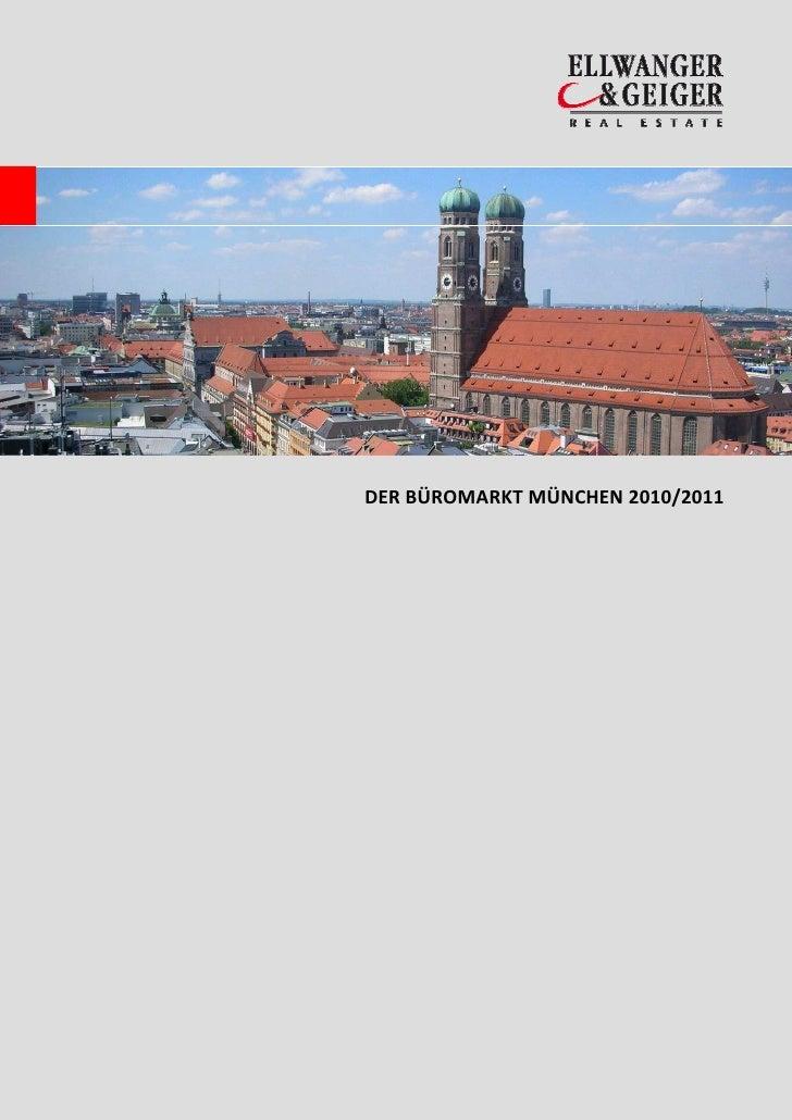 DER BÜROMARKT MÜNCHEN 2010/2011