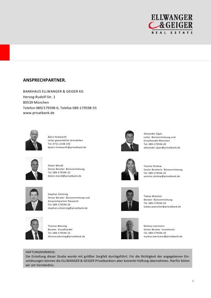 ANSPRECHPARTNER.BANKHAUS ELLWANGER & GEIGER KGHerzog-Rudolf-Str. 180539 MünchenTelefon 089/179598-0, Telefax 089-179598-55...