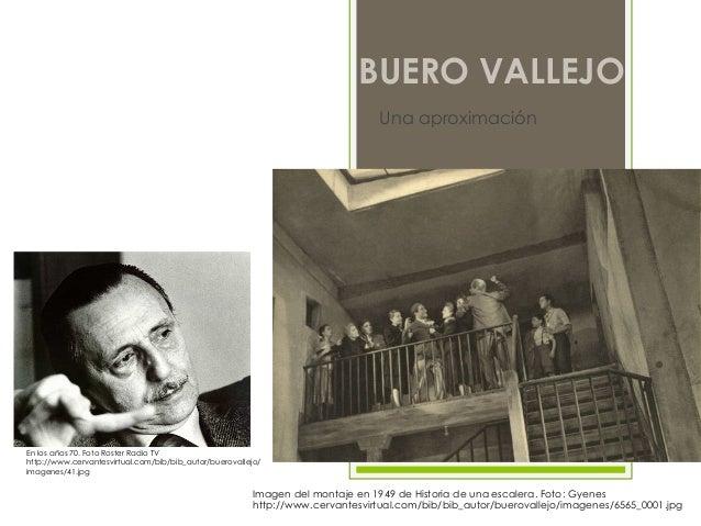ANTONIO BUERO VALLEJOUna aproximaciónImagen del montaje en 1949 de Historia de una escalera. Foto: Gyeneshttp://www.cervan...