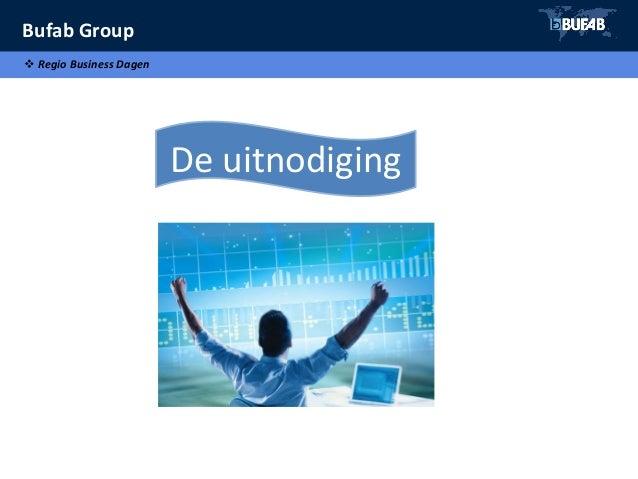 Bufab Group  Regio Business Dagen De uitnodiging