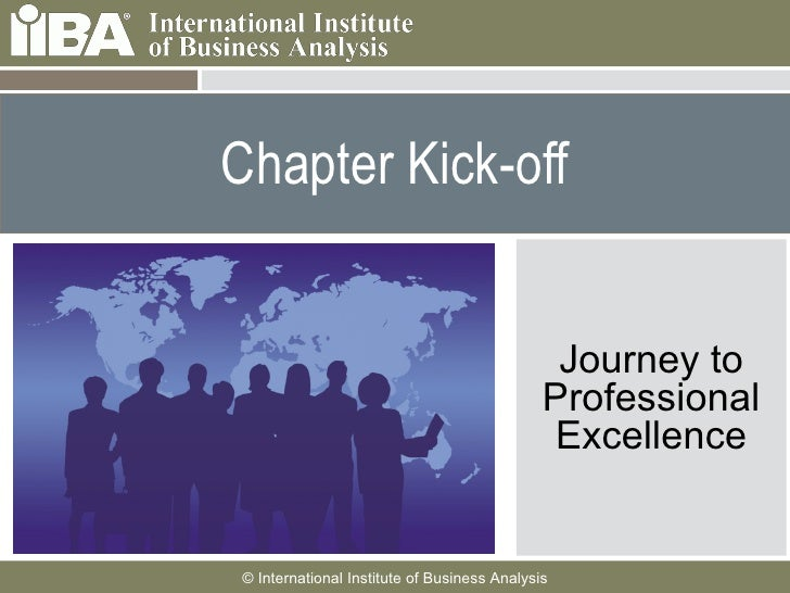 Chapter Kick-off Journey to Professional Excellence