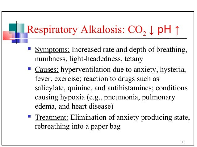 effects of hyperventilation and rebreathing on Treating hyperventilation syndrome with a paper bag  the idea is that  rebreathing the air we exhale makes us inhale more co2 and helps.