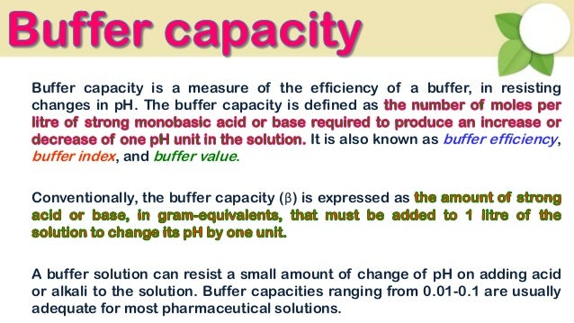 how to prepare buffer solutions of known ph